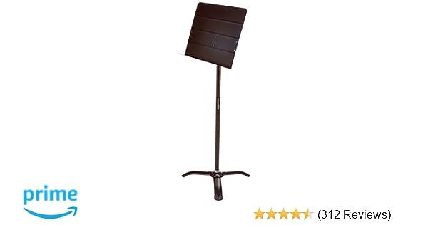 AmazonBasics Portable Sheet Music Stand - Black