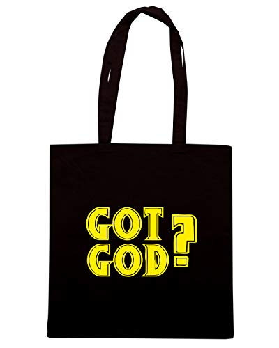Speed Shirt Borsa Shopper Nera FUN0387 792 GOT GOD 94584