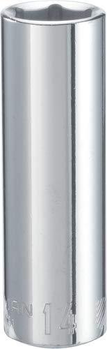 CRAFTSMAN Deep Socket, Metric, 3/8-Inch Drive, 14mm, 6-Point (CMMT44431)