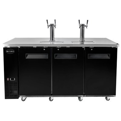SABA Three-Section Direct Draw Beer Dispenser 72-3/4