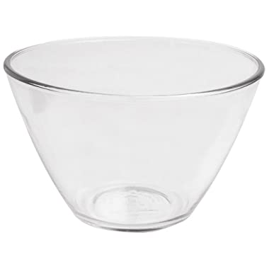 Anchor Hocking 4-Quart Splash Proof Glass Mixing Bowls, Set of 2
