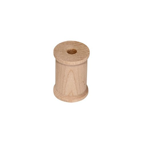 10 Wood Spools 2 1/8 x 1 1/2, Made in the USA, by My Craft Supplies]()