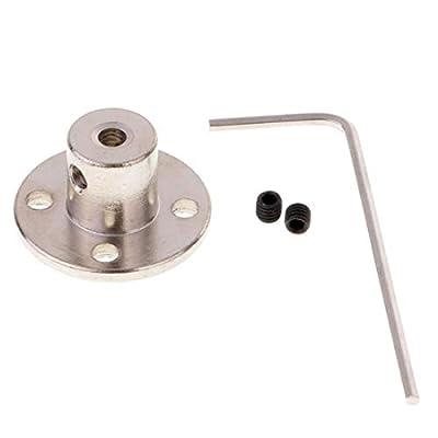 1Pc 3/4/5/6/7/8/10/11/12mm Rigid Flange Coupling Motor Guide Shaft Coupler Motor Connector