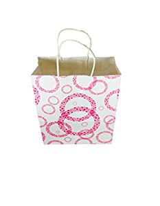 Kraft paper bags, size 22 x 26 x 10 cm, 10 pcs in one package