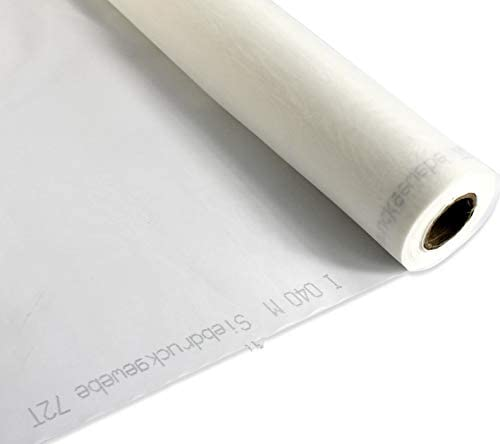 40T White 3 Yards Long 50 inches Wide INTBUYING Silk Screen Mesh Screen Printing Mesh Fabric 100 Mesh