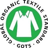 GOTS Organic Cotton Crib Mattress Pad Protector