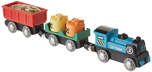 Hape Railway Battery Powered Rolling-Stock Set