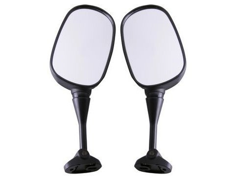 2x Motorcycle Side Mirror Motorbike Rear View Left & Right Side View Mirrors Installed On Fairing Fit For HONDA CBR600 F4 1999-2000 F4I 2001-2002 CBR919 CBR900