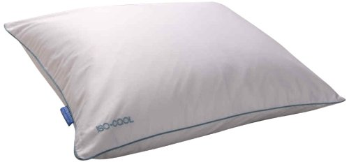 Isotonic Iso-Cool Traditional Polyester Pillow with Outlast Cover, King ()