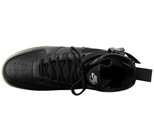 Nike Tessuto 917753 Air Mid Force 1 Sf In Wmns Nero Scarpe 003 E Pelle Uomo pSrqpAR