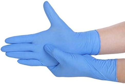 Color : Negro, Talla : S Negro Guantes Desechables de l/átex Azul lavavajillas//Cocina //// Trabajo//Caucho//Jard/ín Guante Universal for la Izquierda y la Mano Derecha Gxbld-yy 20pcs