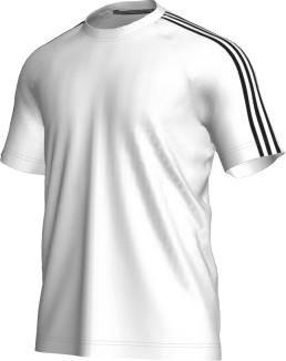 adidas t-shirt weiß