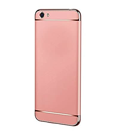 super popular 82cc4 f874e NewBreed Cover for Oppo A57 Case Cover Rose Gold: Amazon.in: Electronics