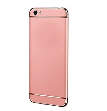 best website 54312 4bb94 New Breed Vivo V5 Plus Case Cover Rose Gold: Amazon.in: Electronics