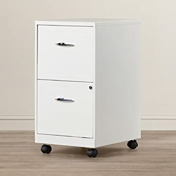 Amazon.com : ZipcodeTM Design Gigi 2 Drawer Mobile File Cabinet ...