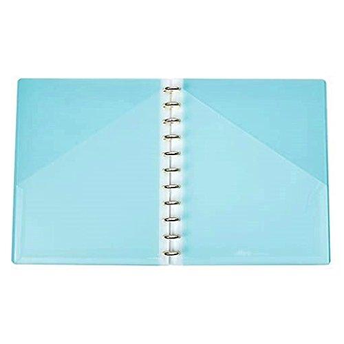 Martha Stewart Discbound Project Organizer, Letter-size, Blue (51071)