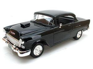 Bel Air Coupe With Hood Scoop 1:18 Scale Die Cast Car ()