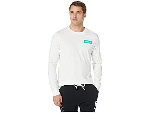 PUMA Men's Last DayZ Long Sleeve T-Shirt Puma White Medium ()