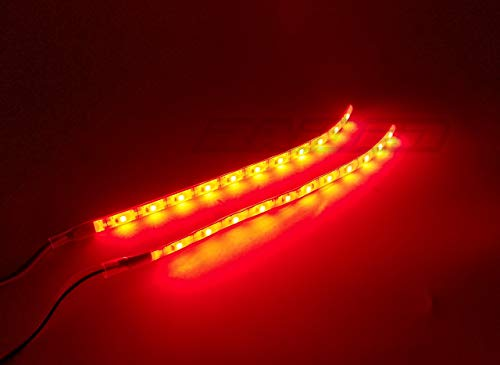 Raidenracing Chassis Light LED Lighting System for Traxxas 1/5 Scale X-MAXX (Red) (Lighting Chassis)