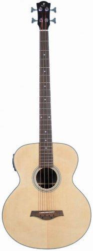 J Reynolds JR1000 4-String Acoustic-Electric Bass Guitar