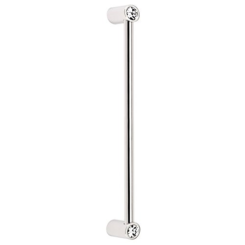 Alno CD715-8-PN Contemporary Crystal Modern Appliance Pull, Polished - Polished Nickel Appliance Pn