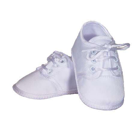 Baby Boys Satin Oxford Shoe - Size 2