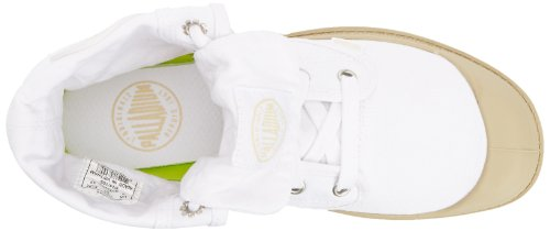 Palladium - Bottes Femme Baggy Blanc/Mastic - Blanc, 6 UK