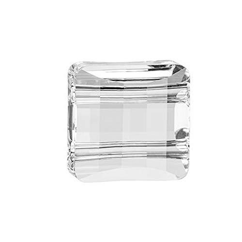 Swarovski Article #5625 2 Hole Crystal Stairway Beads 14mm - Package of 6 14 Mm Stairway Bead