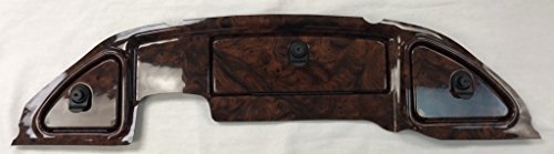 Simulated Dark Burled Woodgrain Three Door Dash Panel to fit Club Car Precedent (WILL NOT FIT 2008 And Up)