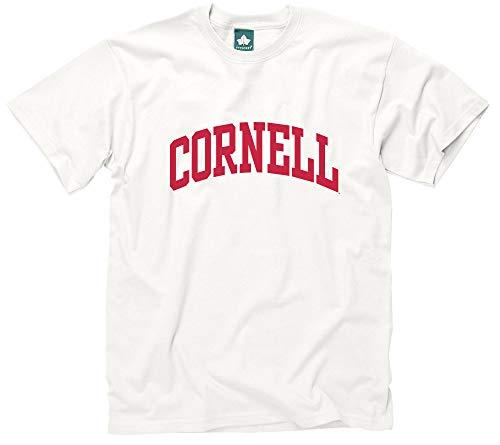 (Ivysport Cornell University Short-Sleeve T-Shirt, Classic, White, XX-Large )