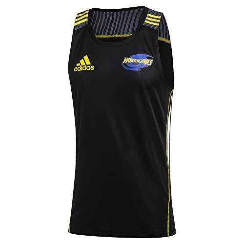 adidas Hurricanes Rugby Training Singlet, Black, X-Large