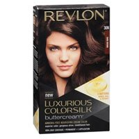 Revlon Luxurious Colorsilk Buttercream Dark Brown, Dark B...