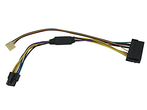 HP Z230 motherboard 6-Pin 6P to 24 Pin ATX Power Supply PSU adapter cable