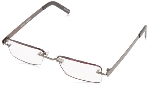 Foster Grant Men's Kennedy 1010608-150.FGR Square Readers,Gu