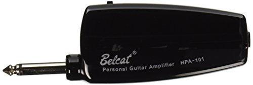 1pkg Belcat HPA-101 BLACK Guitar Headphone Amplug Plug in Amplifier w/ Distortion and Clean Sound by lotmusic