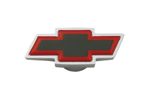 Proform 141-322 Chrome Air Cleaner Wing Nut with Small Red Bowtie Logo for 1/4-20