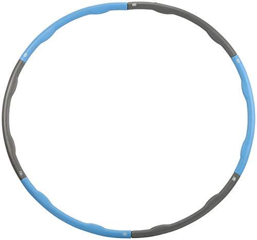 Hula-Hoop-Reifen mit Schaumstoff-Ummantelung /& Massage-Noppen 1,2 kg