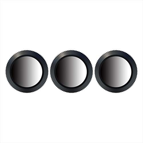 Freewell Landscape ND Gradient – 4K Series – 3Pack ND8-GR, ND16-4,ND32-8 Camera Lens Filters Compatible with DJI Mavic 2 Zoom/Mavic 2 Enterprises Drones