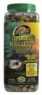 Small Animal Supplies Natural Forest Tortoise Food 60Oz by Mojetto (Image #1)