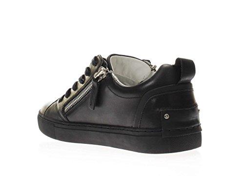 Crime London 11304S17B Sneakers Hombre Nero