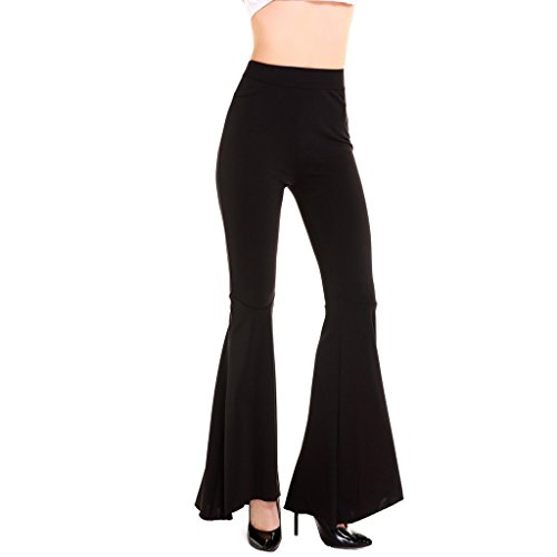 Flare Stretch Trousers - 3