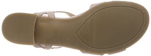 Caprice Damen 28201 Slingback Sandalen Rot (Rose Nubuc 509)