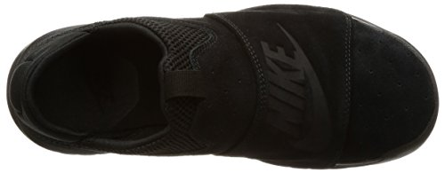 Nike BENASSI SLP Mens fashion-sneakers 882410-003_9.5 - BLACK/BLACK-BLACK by NIKE (Image #7)