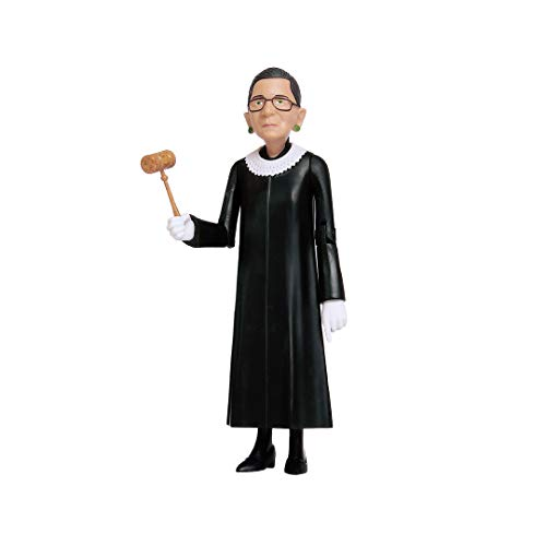 Ruth Bader Ginsburg Real Life Political Action Figure - Iconic Legendary Notorious RBG Collectible Figurine, Perfect for Collectors, Gift Ideas & Souvenirs
