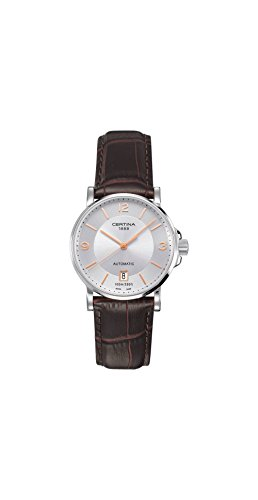 Certina DS Caimano Automatic Silver Dial Ladies Watch C0172071603701