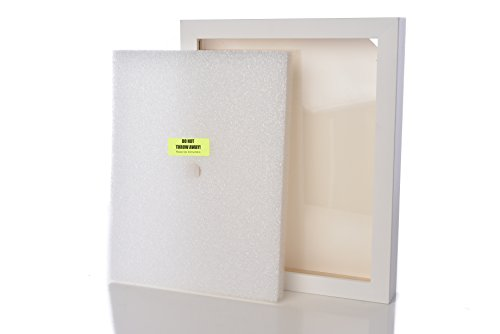 Shart Premium Square White T Shirt Frame Display Case 11