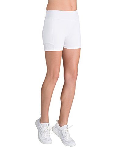 - Tail Activewear Women's Antonia Tennis Short Small White