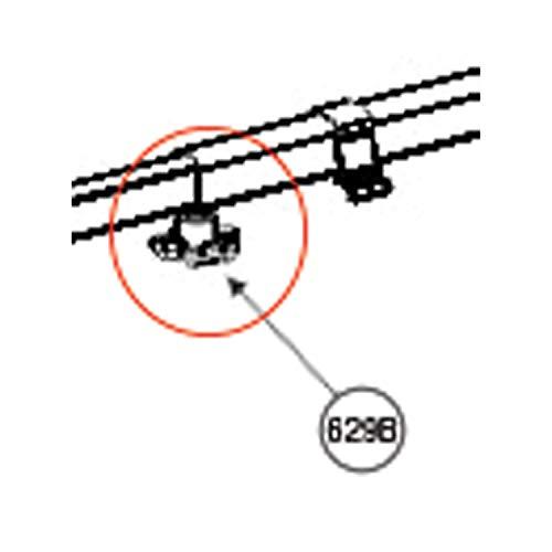 Adjustable Knob W/Nut F/8500+ - DOMETIC PARTS 3310799.006