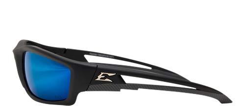 Edge Eyewear TSKAP218 Kazbek Polarized Aqua Precision Blue Mirror Lens (6 Pack) by Edge Eyewear (Image #2)