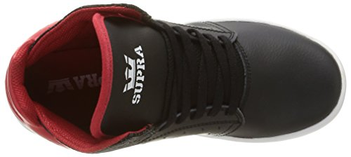 white Supra red black Unisex Sneakers Atom Nero Zfxwq4faYr